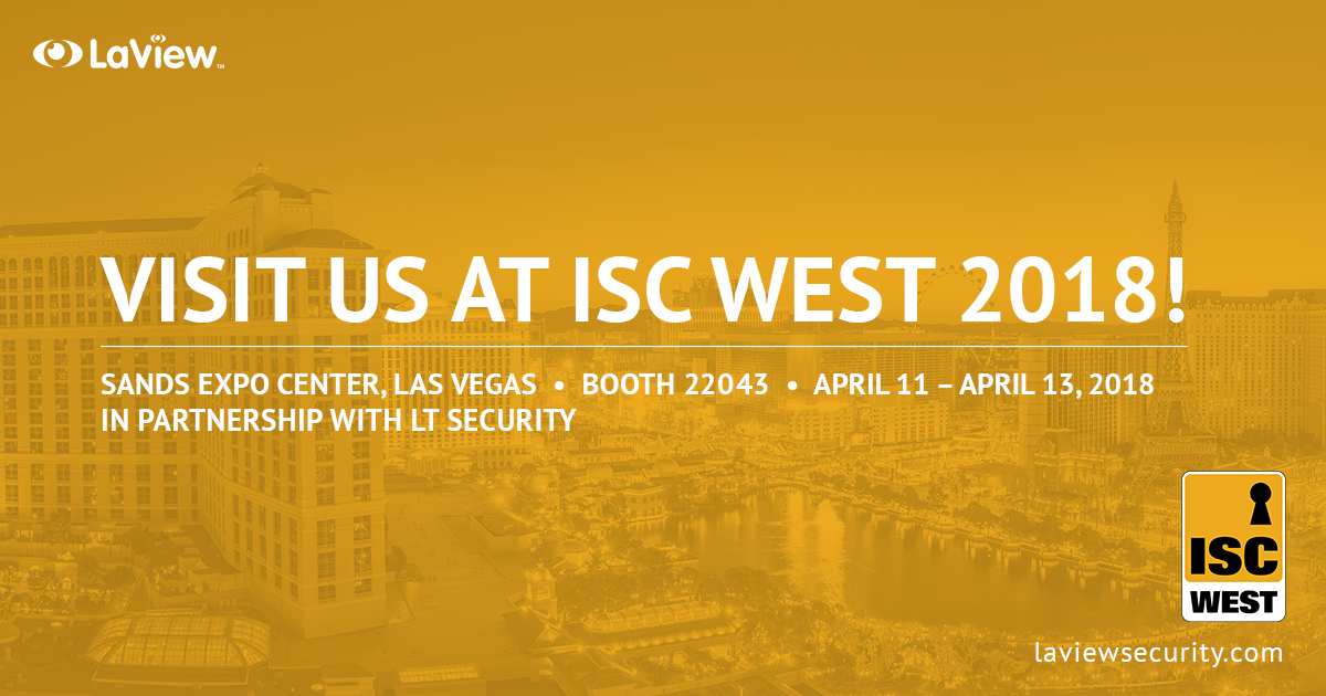 See You at ISC West 2018!