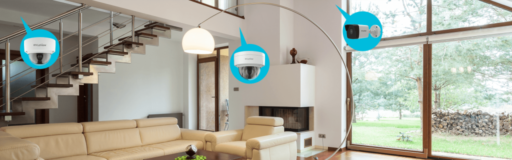 Build Your Kit IP Security Camera Systems