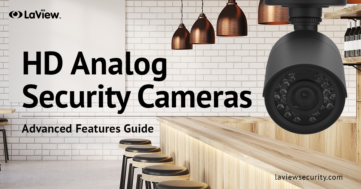Analog Security Cameras and Systems – Get Time-Tested Technology