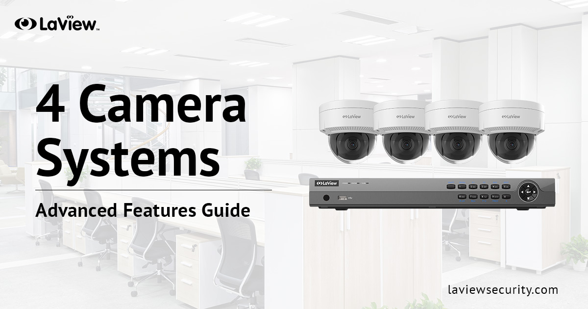4 Camera Security System – Protect Your Weak Points