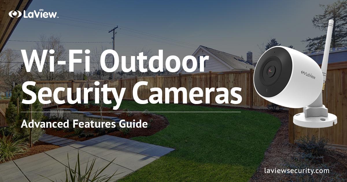 Wi-Fi Outdoor Security Camera
