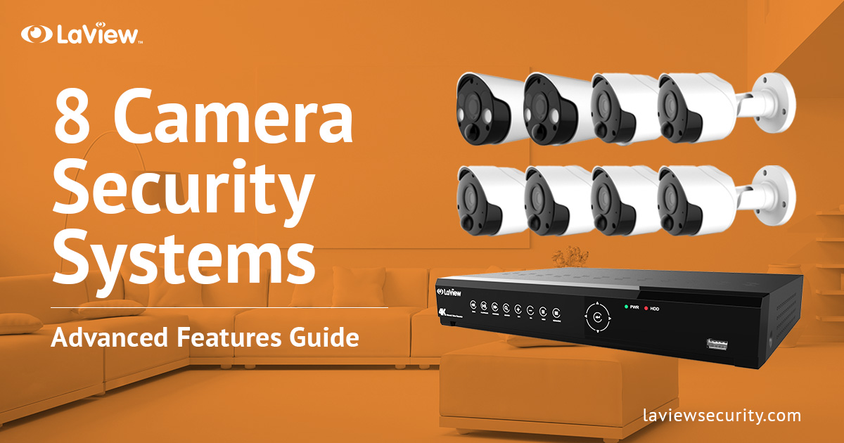8 Camera Security System – Put More Eyes On Your Safety