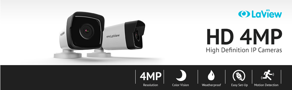 HD 4MP Security Camera System