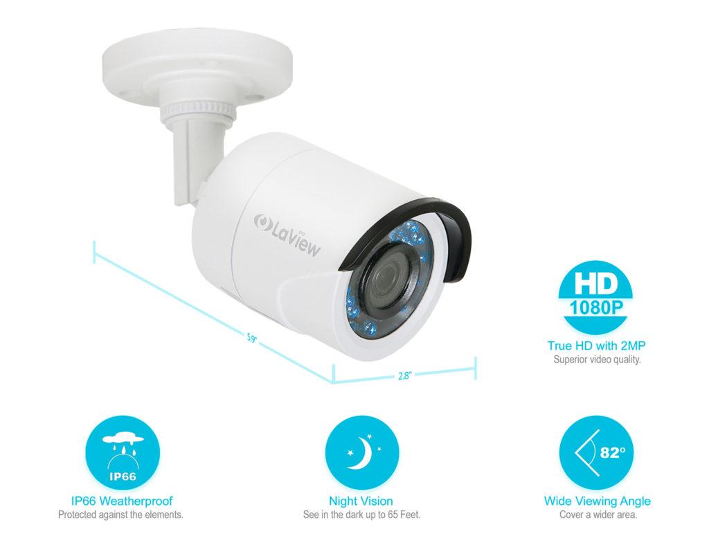 HD 1080P Analog Security Cameras