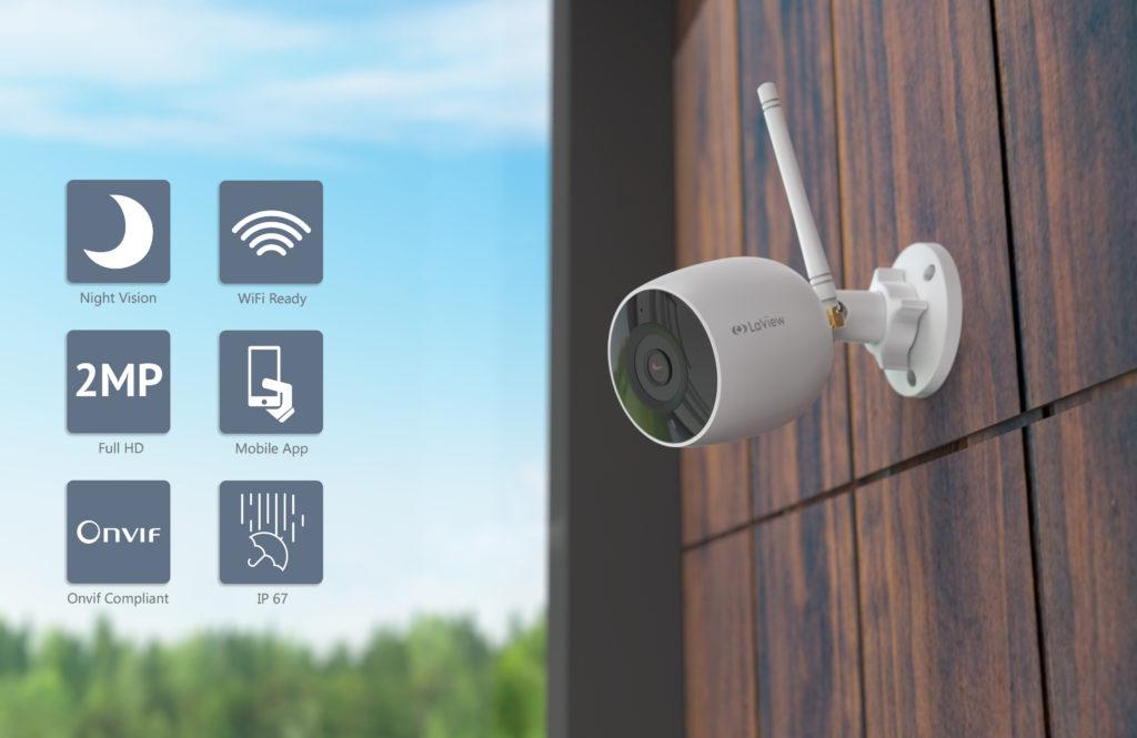 Wi-Fi Outdoor Bullet Camera