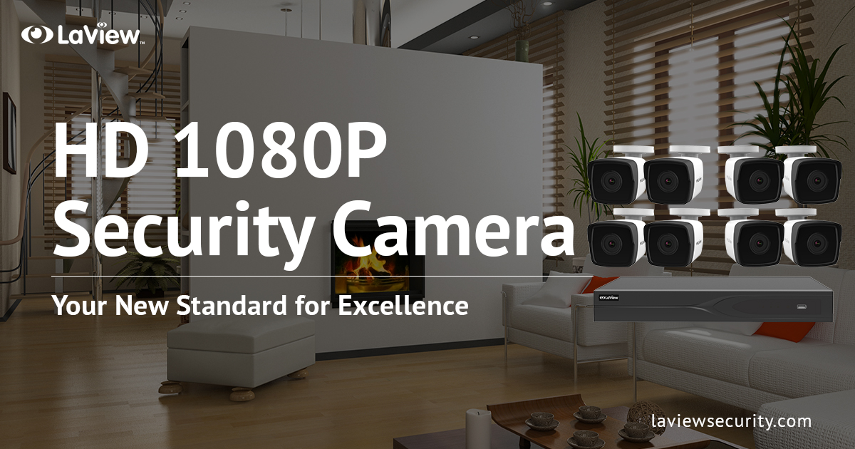 HD 1080P Security Camera system – Your New Standard For Excellence