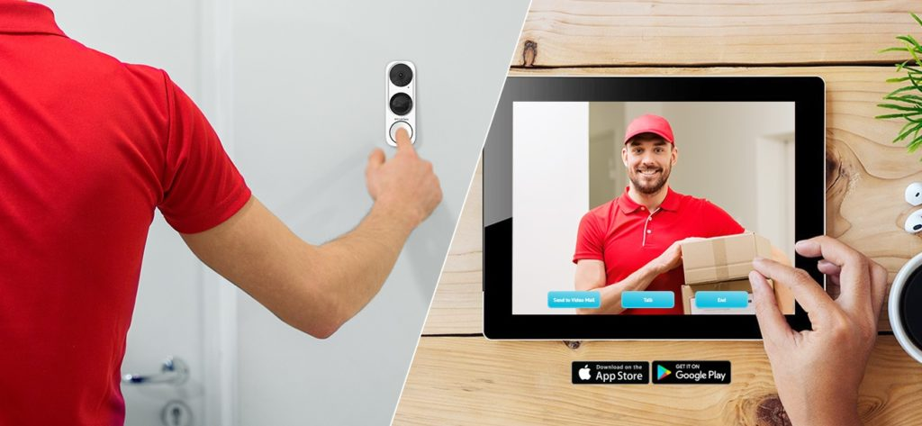 Delivery Person Ring Doorbell