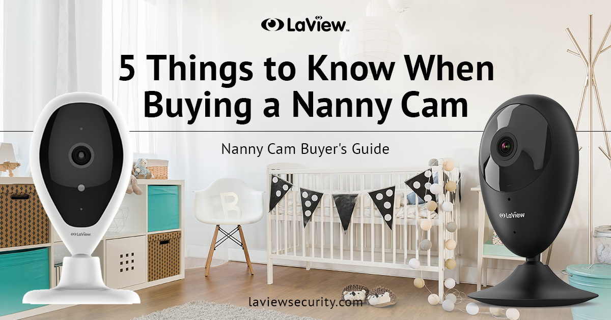 5 Things To Know When Buying a Nanny Cam