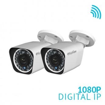 2x 1080P HD WiFi IP Bullet Camera