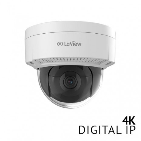 4K UltraHD Dome Smart IP Surveillance Camera