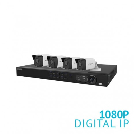 8 Channel HD NVR Security System with 4x 1080P HD Cameras