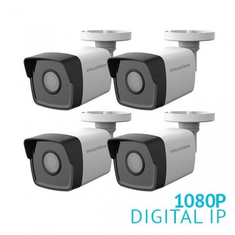 4x 1080P HD IP Bullet Camera