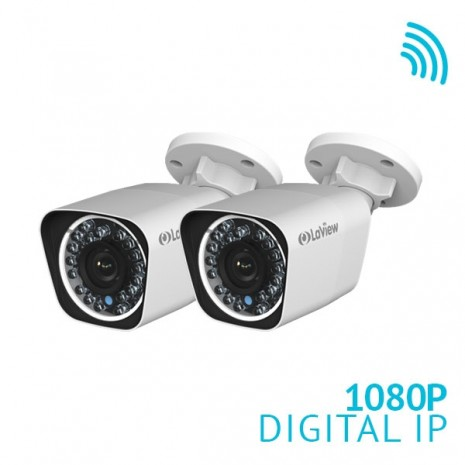 2x 1080P HD WiFi IP Bullet Camera